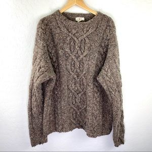 Vintage J. Crew early 90s chunky sweater size xl